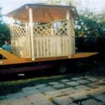 Garten-Pavillon aus Holz 2010