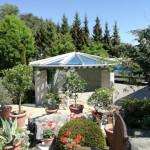 Glasdach für Gartenpavillon 2017