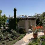 Glasdach für Gartenpavillon 2017/1