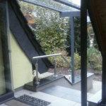 Treppenüberdachung 2014/2