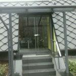 Treppenüberdachung 2014/1